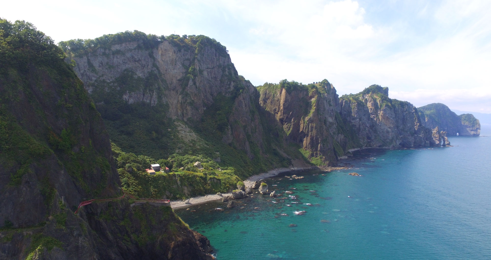 写真: オタモイ海岸